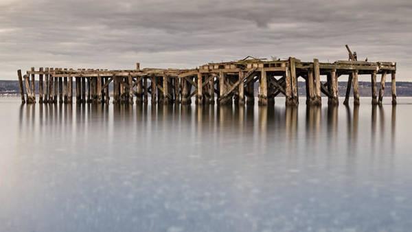 Wall Art - Photograph - Old Dock by Tony Locke
