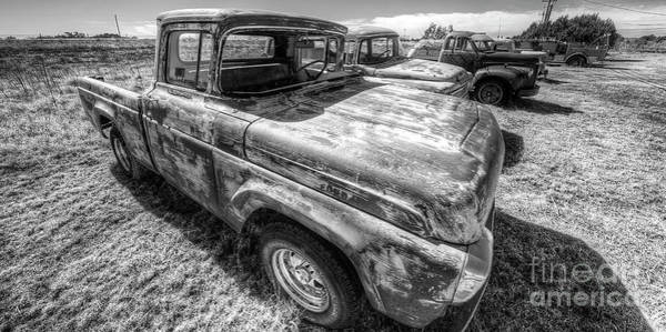 Santa Rosa Photograph - Old Dodge Truck Along Route 66 by Twenty Two North Photography