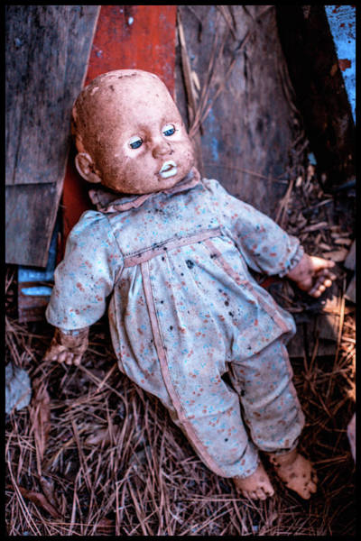 Photograph - Old Doll by Matthew Pace