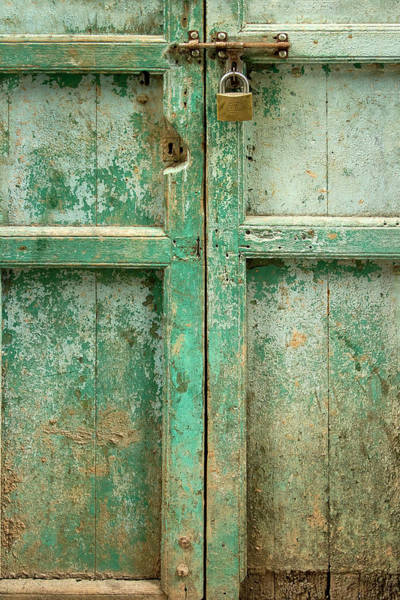 Entry Photograph - Old Door by Adam Romanowicz