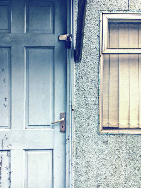 Wall Art - Photograph - Old Door And Window by Tom Gowanlock
