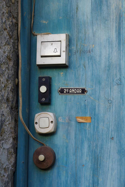 Ding Photograph - Old Door Bells by Carlos Caetano