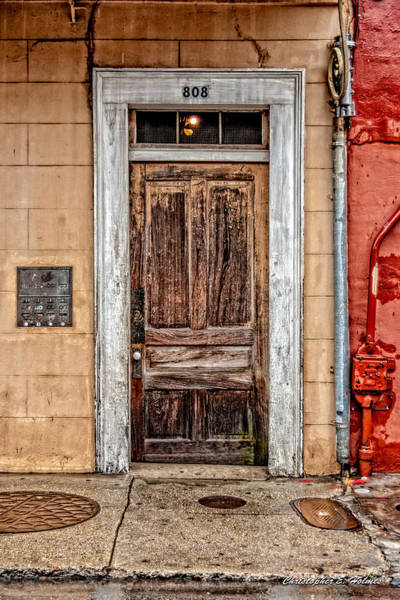 Photograph - Old Door by Christopher Holmes