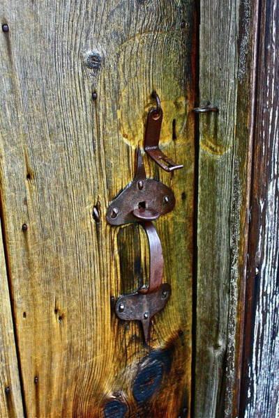 Photograph - Old Door by Diana Hatcher