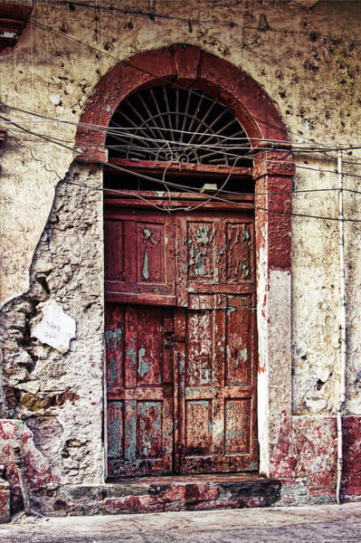 Photograph - Old Door In Casco Viejo, Panama by Tatiana Travelways