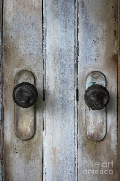 Wall Art - Photograph - Old Door Knobs by Colleen Kammerer