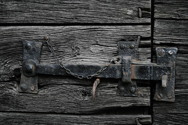 Digital Art - Old Door Lock by Julian Perry
