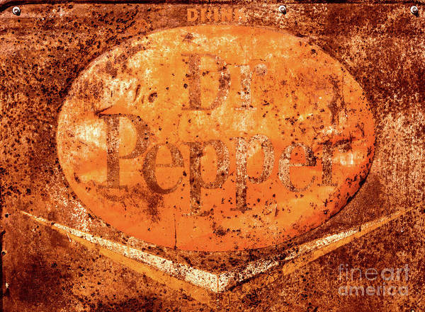 Photograph - Old Dr Pepper Sign by M G Whittingham