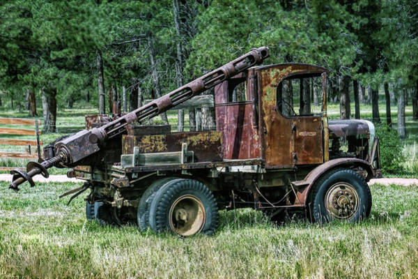 Wall Art - Photograph - Old Drilling Rig by Dawn Key