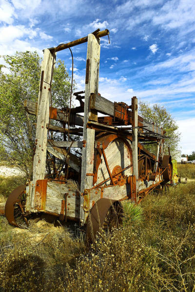 Wall Art - Photograph - Old Drilling Rig  by Jeff Swan