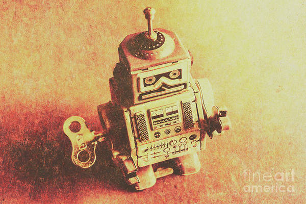 Sci-fi Photograph - Old Electric Robot by Jorgo Photography - Wall Art Gallery