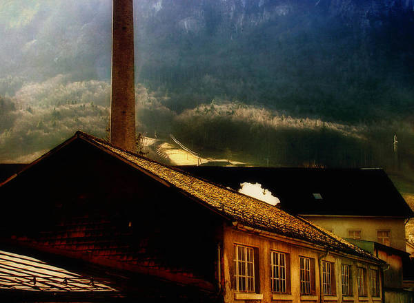 Ceca Wall Art - Photograph - Old Factory by Svetlana Peric