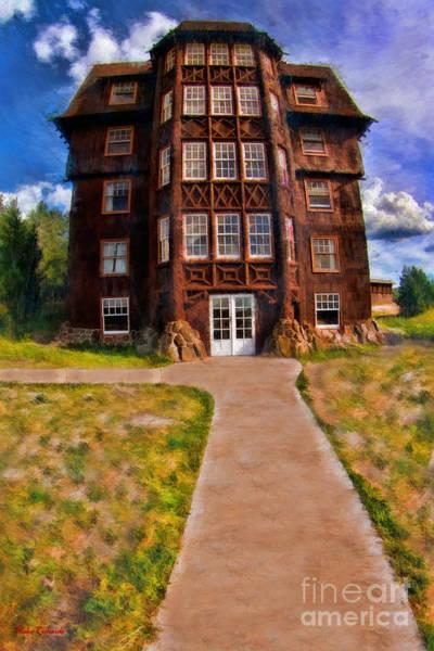 Photograph - Old Faithful Inn Yellowstone by Blake Richards