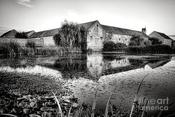 Photograph - Old Farm And Pond In France by Olivier Le Queinec
