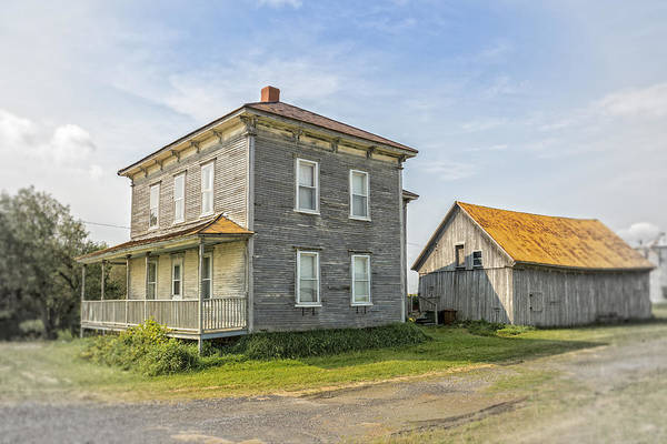 Wall Art - Photograph - Old Farm House by Michel Emery
