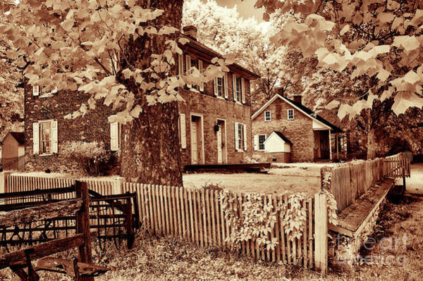 Wall Art - Photograph - Old Farm House by Paul W Faust - Impressions of Light