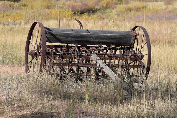 Photograph - Farm Implament Westcliffe Co by Margarethe Binkley
