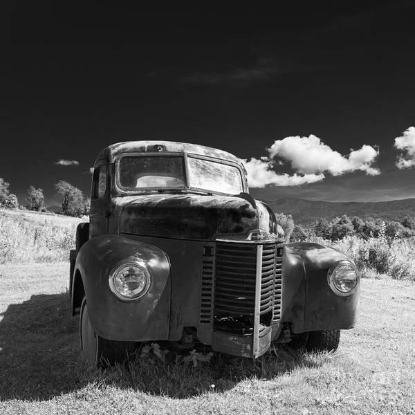 Wall Art - Photograph - Old Farm Truck Infrared by Edward Fielding