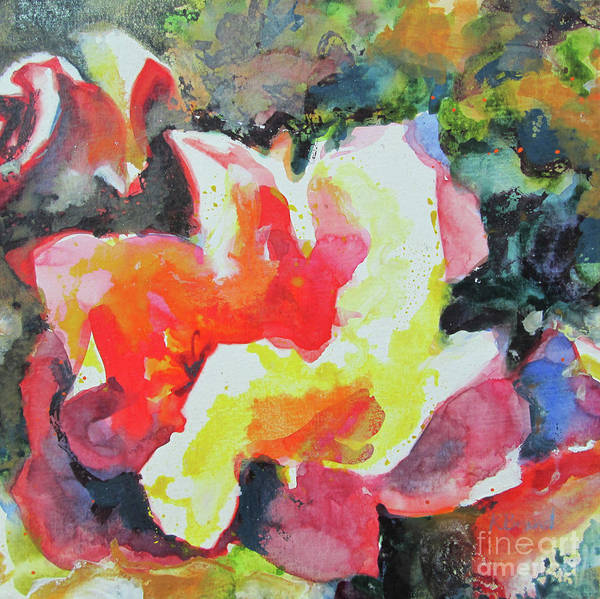 Wall Art - Painting - Old Fashioned Roses by Kathy Braud