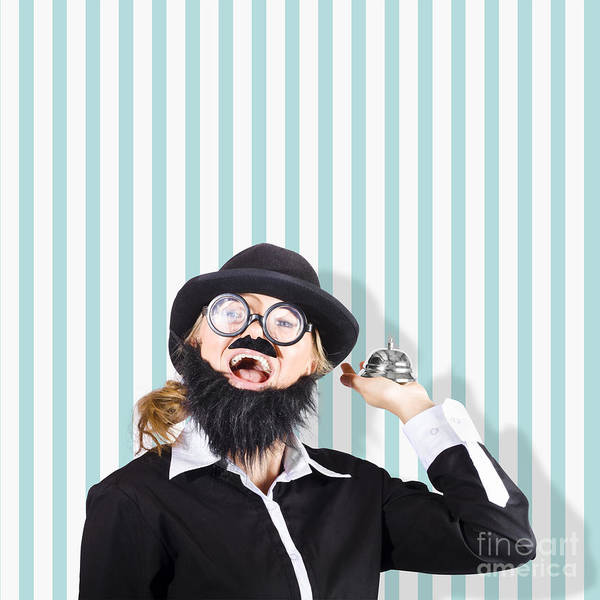 Wall Art - Photograph - Old Fashioned Sales Service With A Smile by Jorgo Photography - Wall Art Gallery