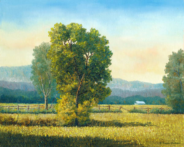 Painting - Old Fence by Douglas Castleman