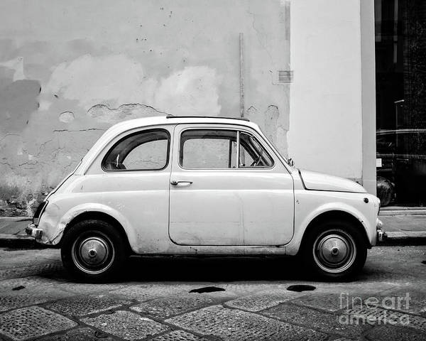 Wall Art - Photograph - Old Fiat Florence Italy by Edward Fielding