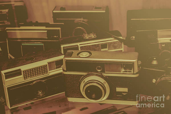 Photograph - Old Film Cameras by Jorgo Photography - Wall Art Gallery