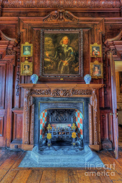 Photograph - Old Fire Place by Ian Mitchell