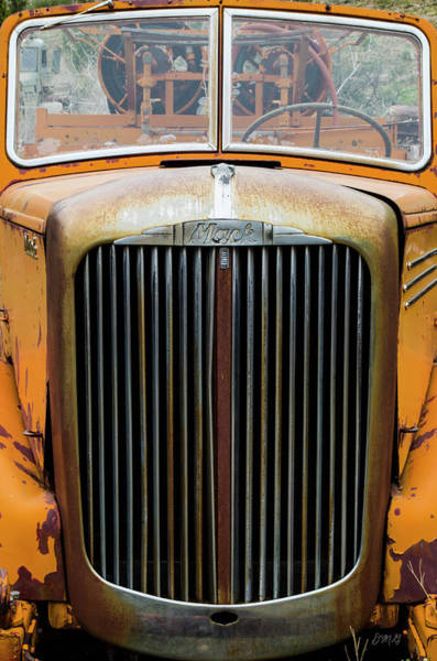 Photograph - Old Fire Truck by David Gordon
