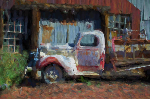 Photograph - Old Firetruck IIi  by David Gordon