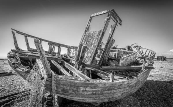 Photograph - Old Fishing Boat. by Gary Gillette