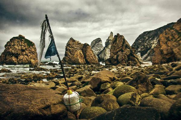 Wall Art - Photograph - Old Fishing Buoy by Carlos Caetano