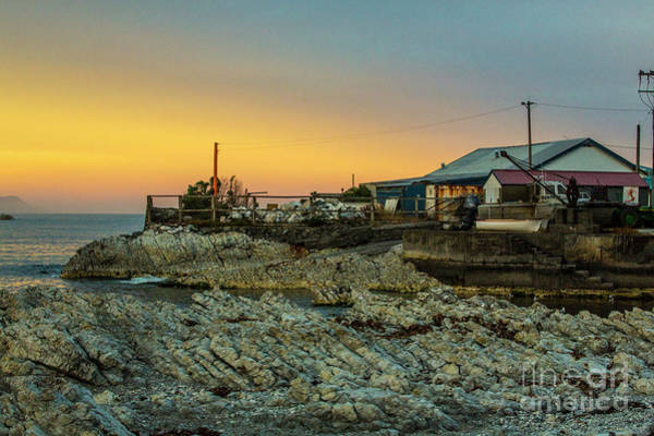Wall Art - Photograph - Old Fishing Shed At Kaikoura by Sheila Smart Fine Art Photography