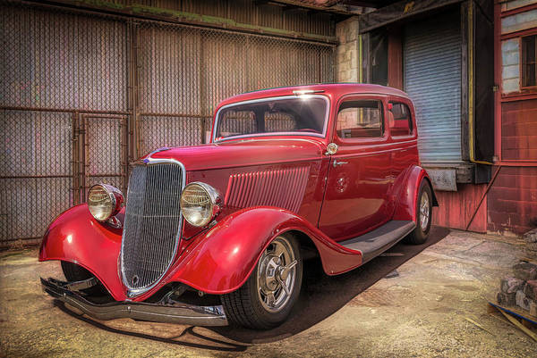 Photograph - Old Ford Coupe by Bill Posner