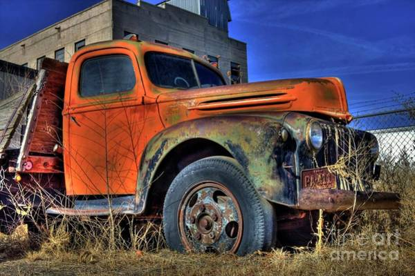 Photograph - Old Ford by Tony Baca
