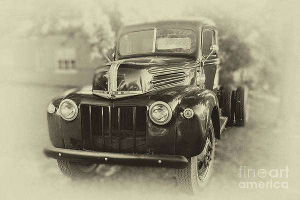 Photograph - Old Ford Truck by Dale Powell