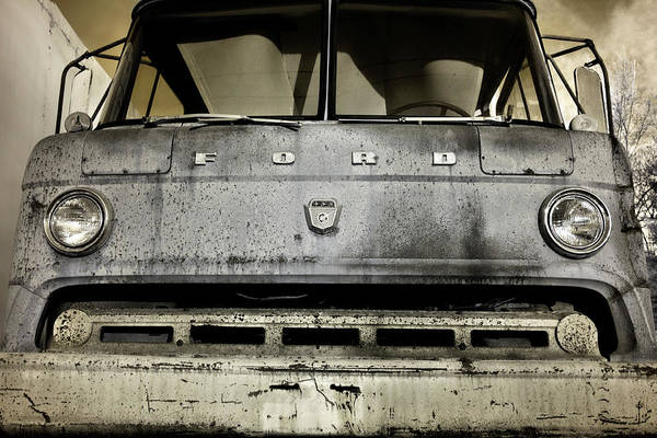 Photograph - Old Ford Trucks Never Die by Luke Moore