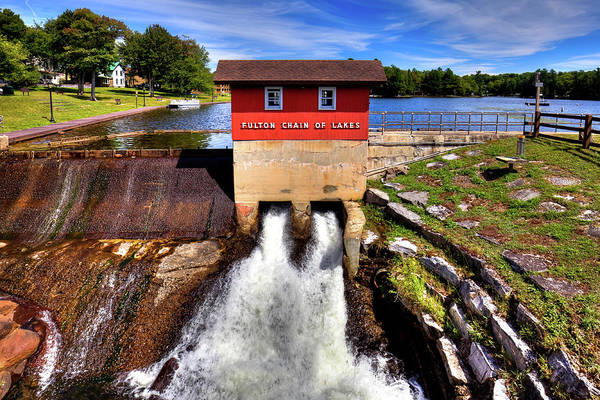 Photograph - Old Forge Dam by David Patterson