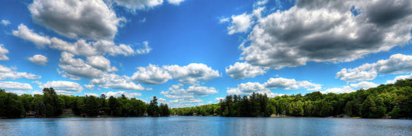 Photograph - Old Forge Pond Panorama 2 by David Patterson