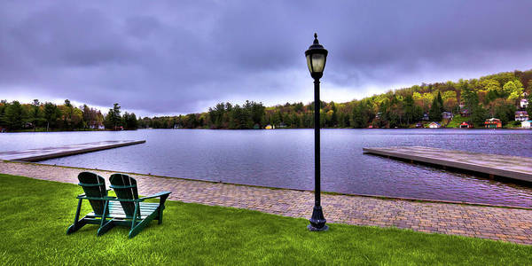 Photograph - Old Forge Waterfront by David Patterson
