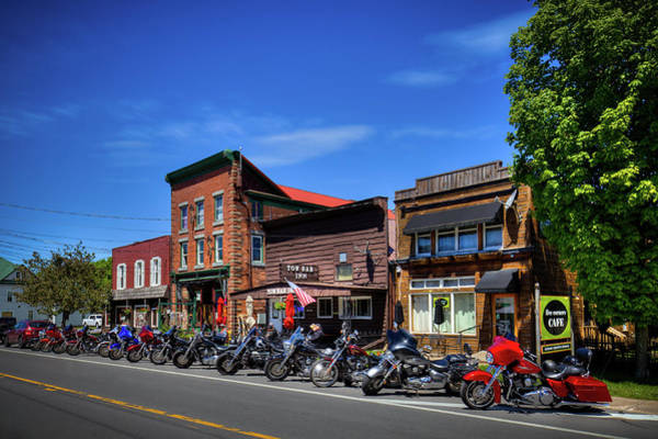 Photograph - Old Forge's Bike And Brews by David Patterson