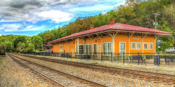 Photograph - Old Fort Train Depot by Dale R Carlson