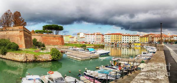 Photograph - Old Fortress , Fortezza Nuova Of Livorno by Ariadna De Raadt