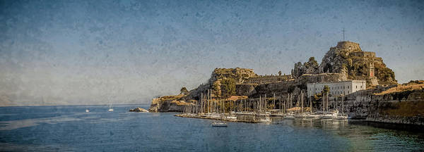Photograph - Corfu, Greece - Old Fortress North by Mark Forte