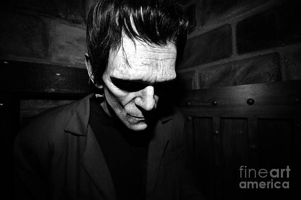 Frankenstein Monster Photograph - Old Frankie by David Lee Thompson