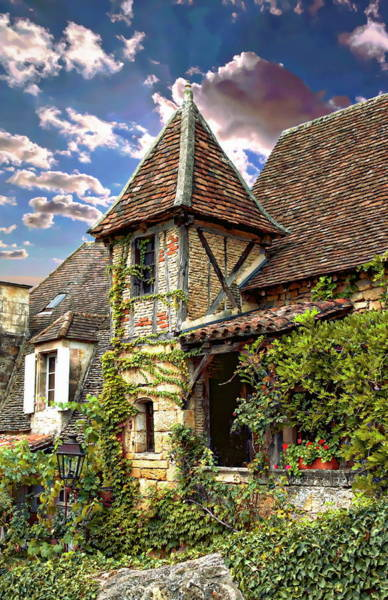 Photograph - Old French House by Anthony Dezenzio