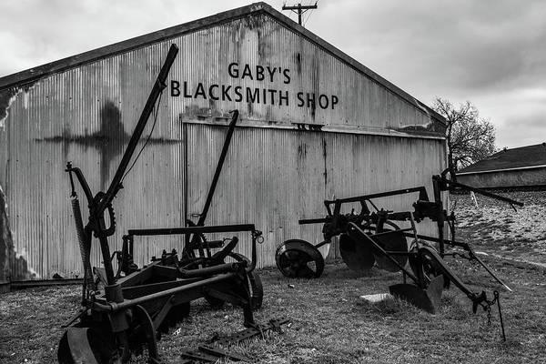Photograph - Old Frisco Blacksmith Shop by Nicole Lloyd