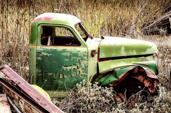 Photograph - Old Fruit Truck by M G Whittingham