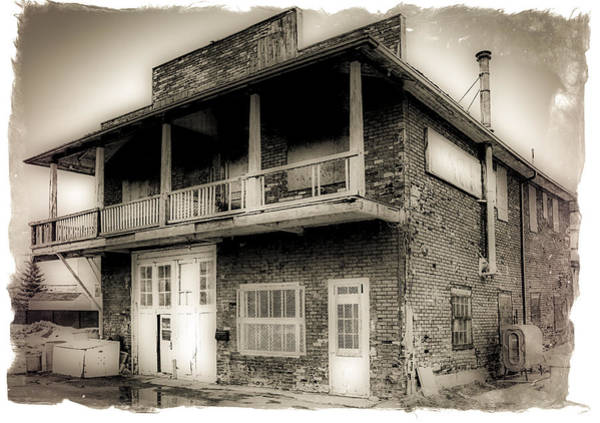 Wall Art - Photograph - Old Garage by Michel Emery