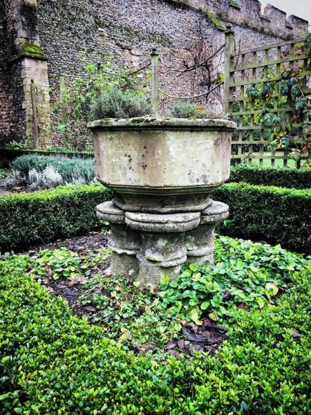 Old Garden Stone Trough Art Print